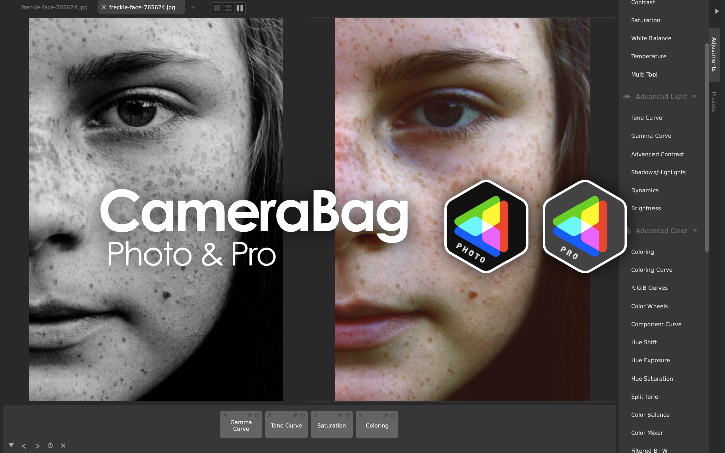 CameraBag - Ultra-intuitive tools for filtering and editing photos